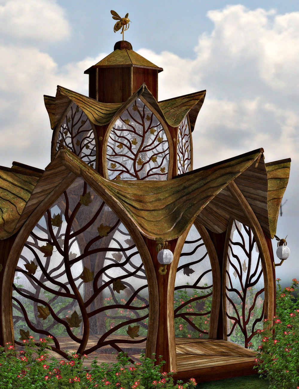 Fantasy Gazebo A Hivewire 3d Creation By Christopher