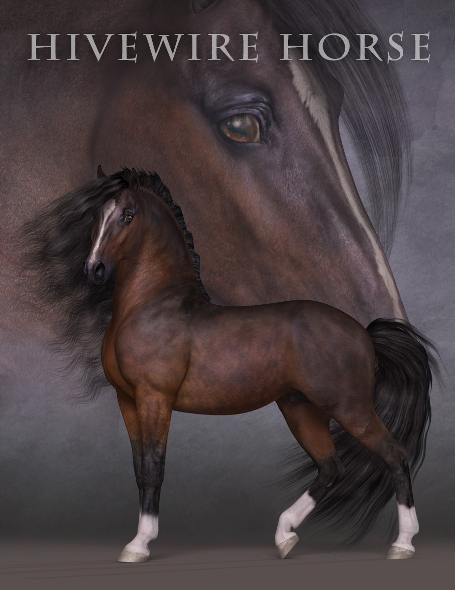 HiveWire Horse - A HiveWire 3D Creation by CGCubed, Christopher ...