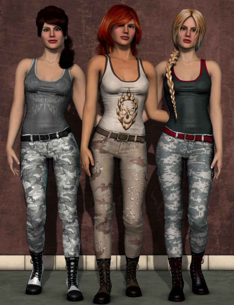 Urban Style for Dawn's Jeans, Tank and Boots
