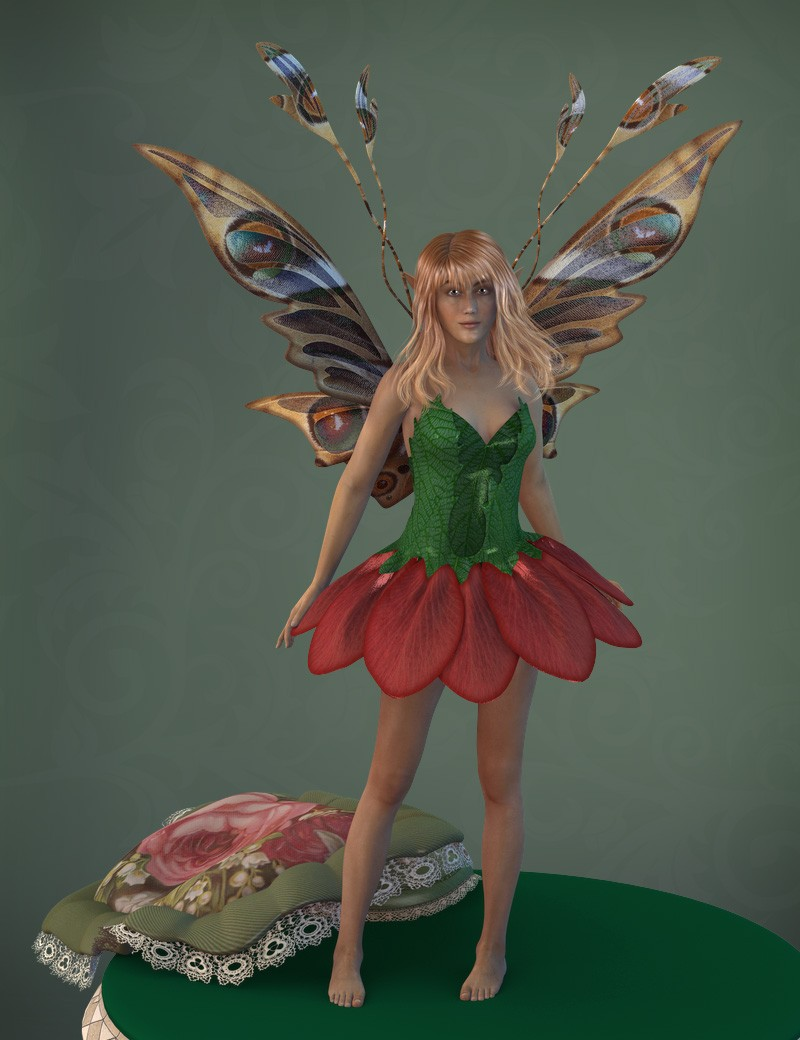 Flower Fairy Wings (DS)