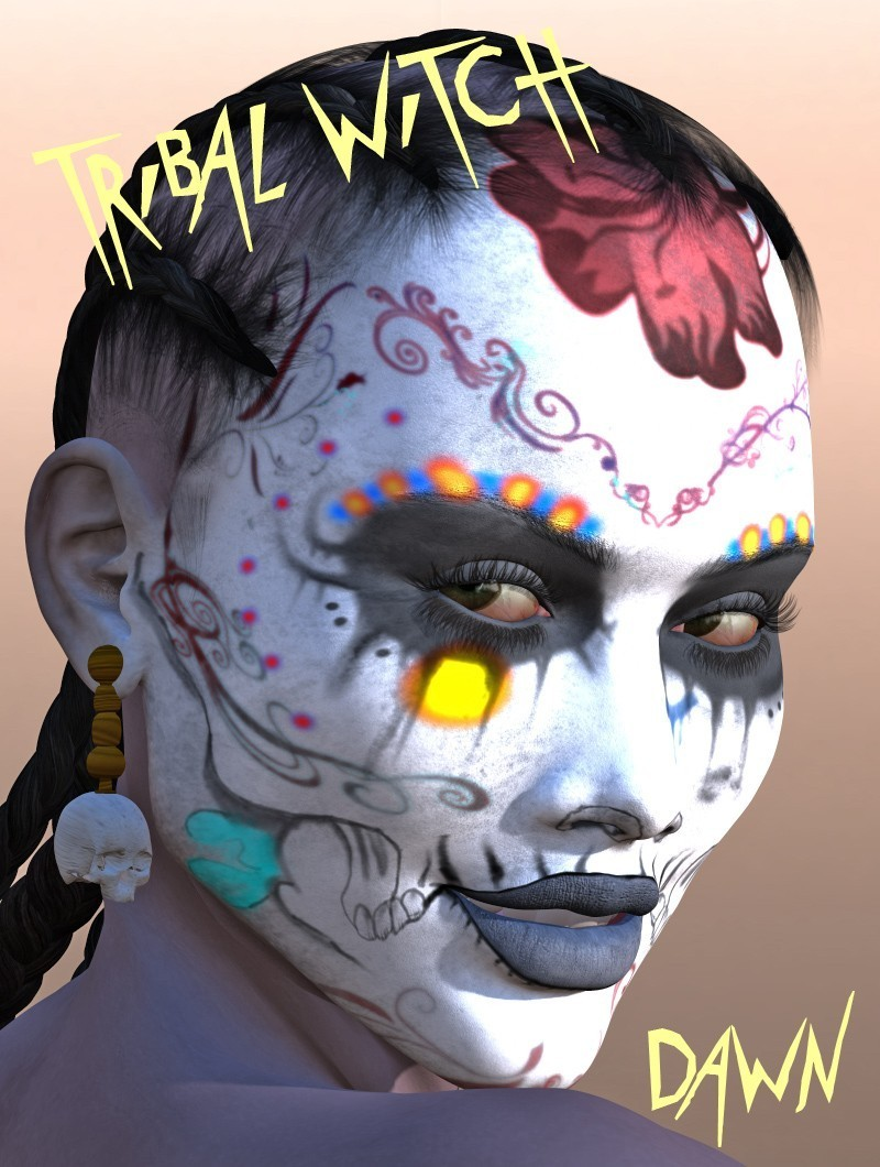 Tribal Witch: The Character