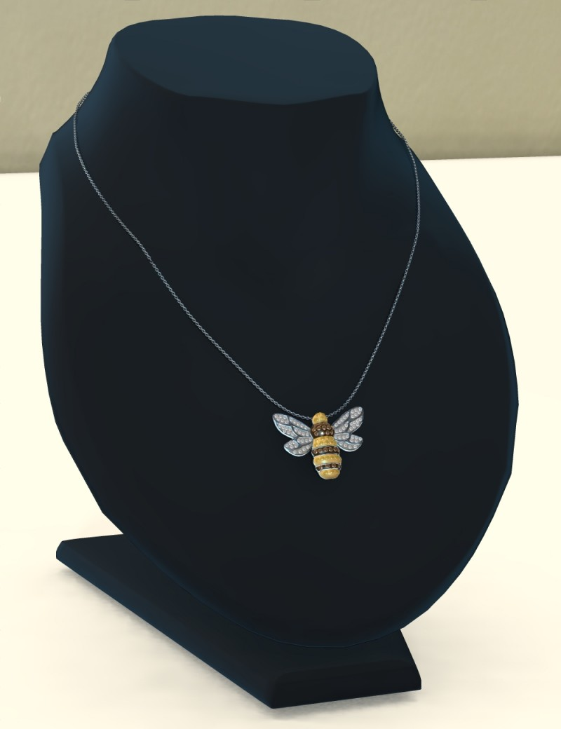 Simplicity for Dawn - Bumblebee Necklace (Poser)
