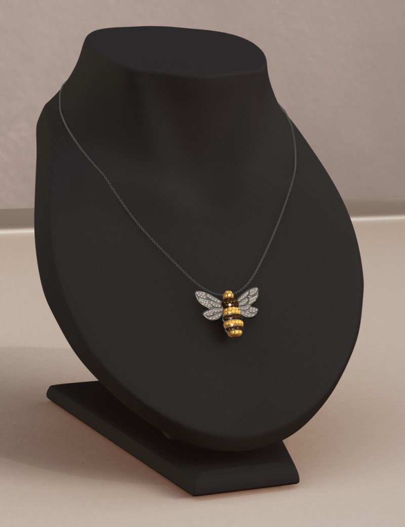 Simplicity for Dawn - Bumblebee Necklace (DS)