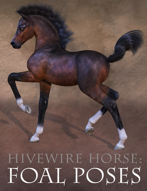 CWRW Pose Pack for the HiveWire Foal