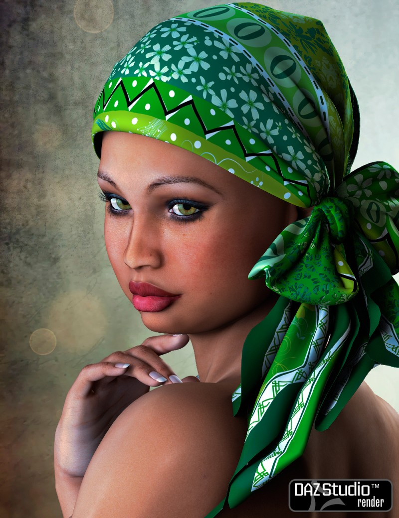 The Face of Africa Skin Set 1 for Dawn for DAZ Studio