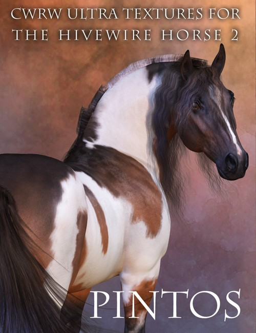 CWRW Ultra Textures for the HW Horse Pack 2 Mini-Set - Pintos