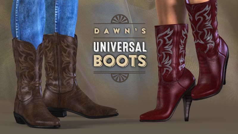 Dawn's Universal Boots