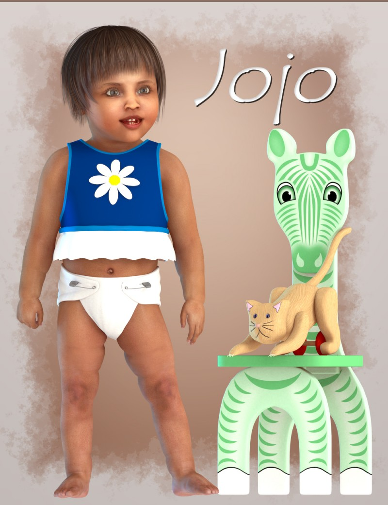 Jojo for Baby Luna - DAZ Studio