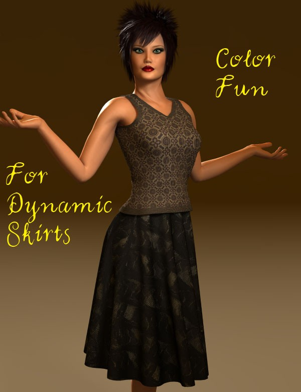Color Fun for Dynamic Skirts 1 and 2 for Dawn and Victoria 4