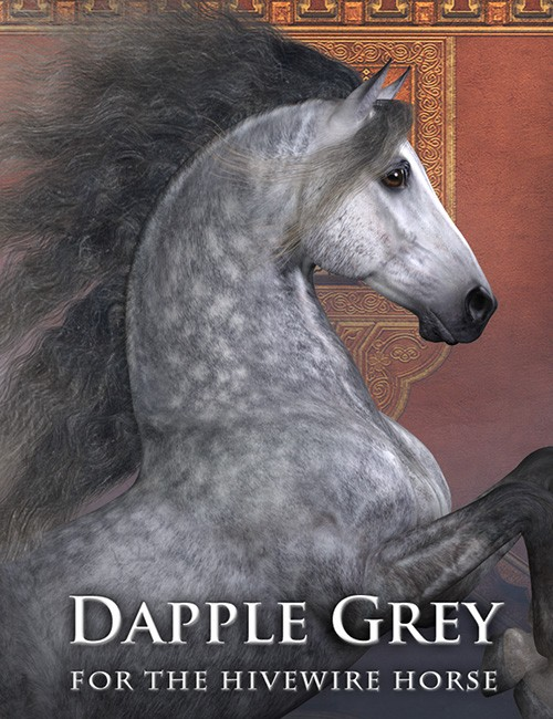 CWRW Dapple Grey for the HiveWire Horse