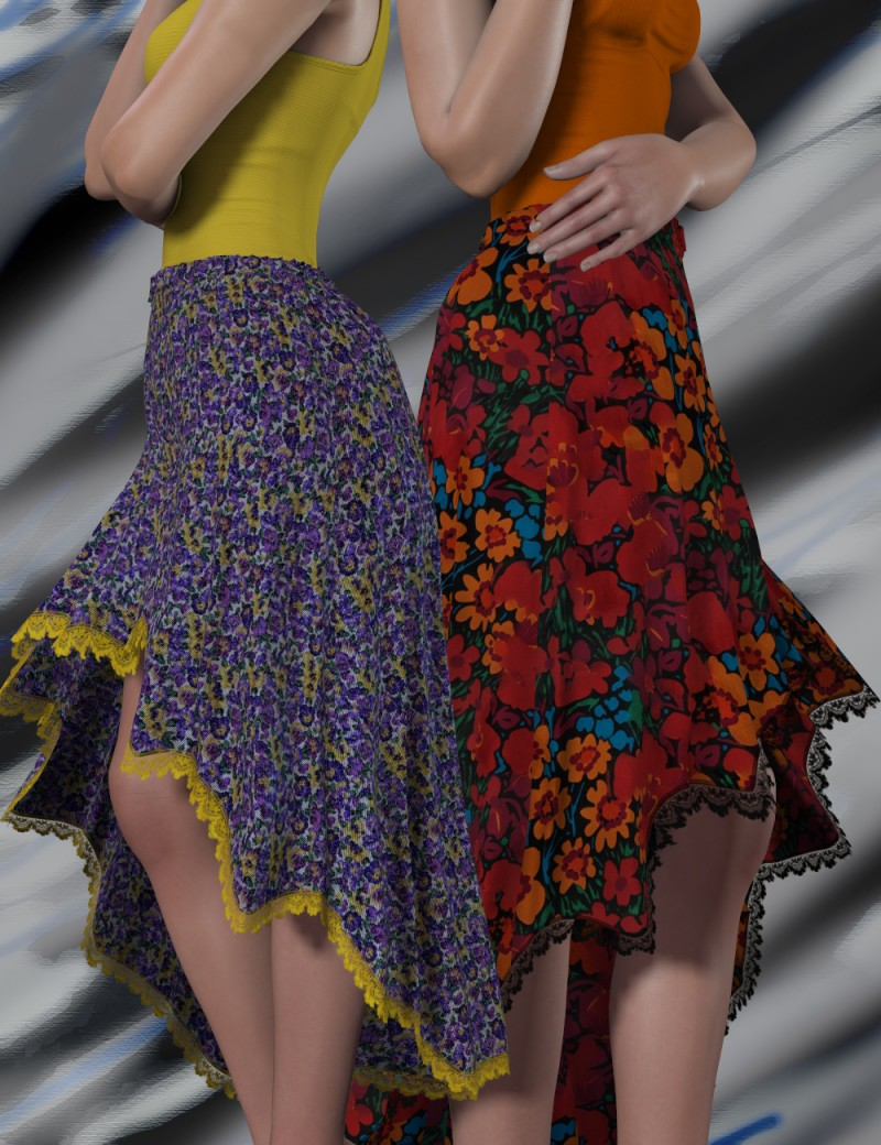 Sassy Floral for Pleated for Dawn