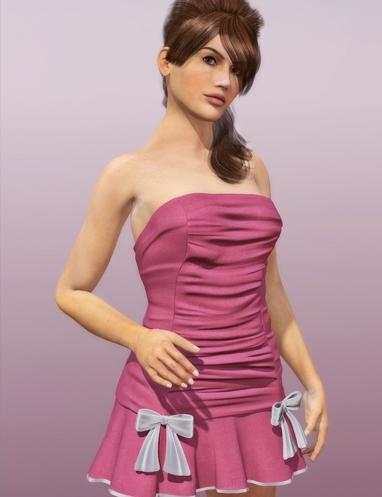 Sweetheart Dress for Dawn