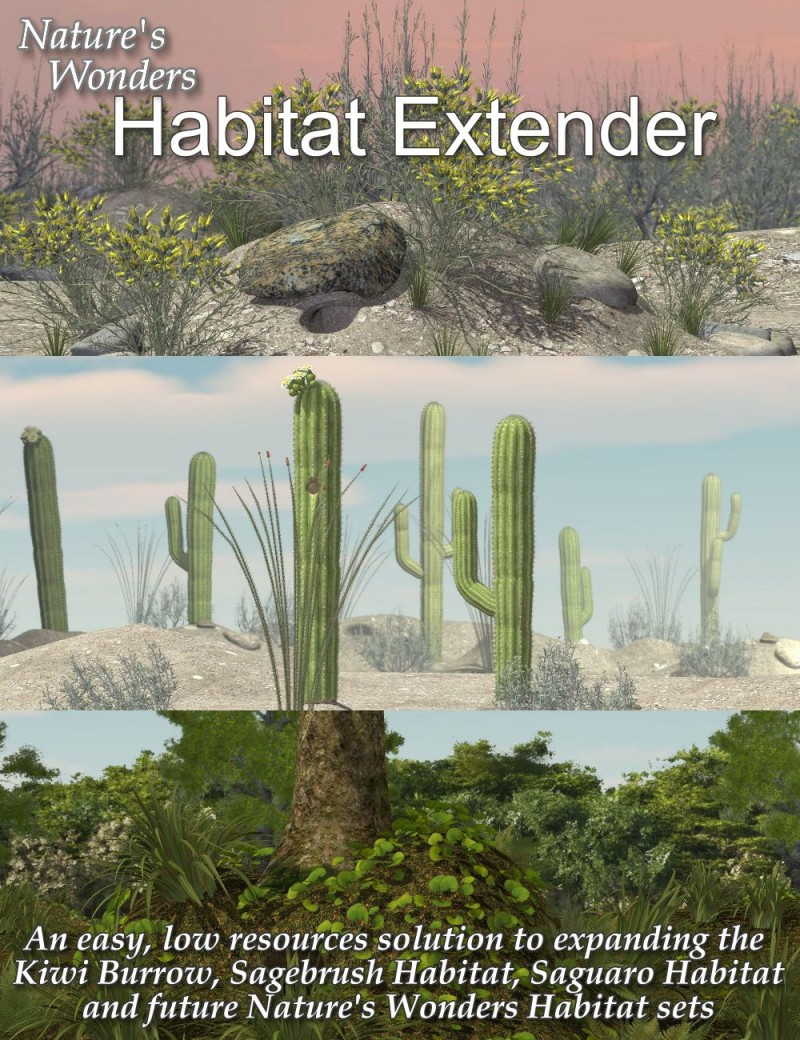 Nature's Wonders Habitat Extender