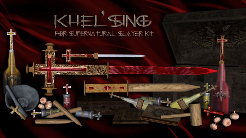 Khel'Sing for Supernatural Slayer Kit