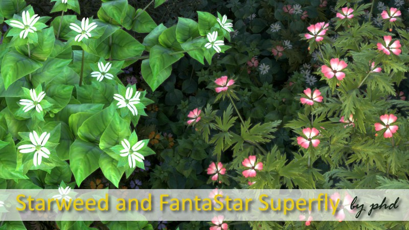 Starweed and FantaStar Superfly Addon