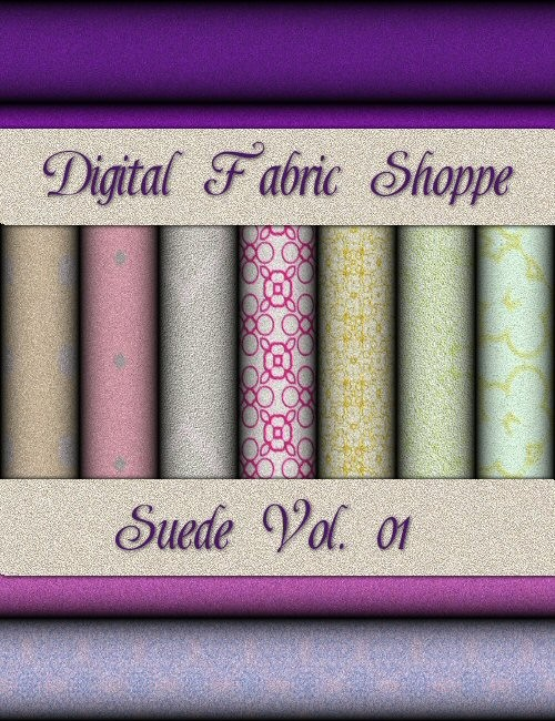 Digital Fabric Shoppe - Suede Vol 01