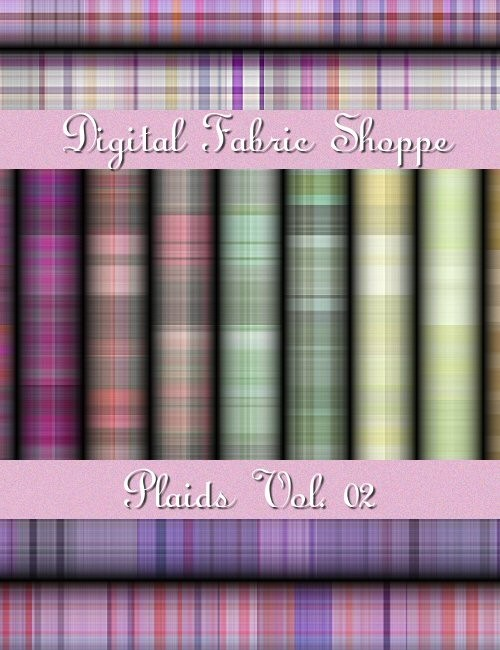 Digital Fabric Shoppe - Plaids Vol 01