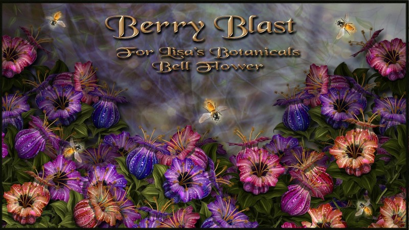 Berry Blast for Lisa's Botanicals Bell Flower