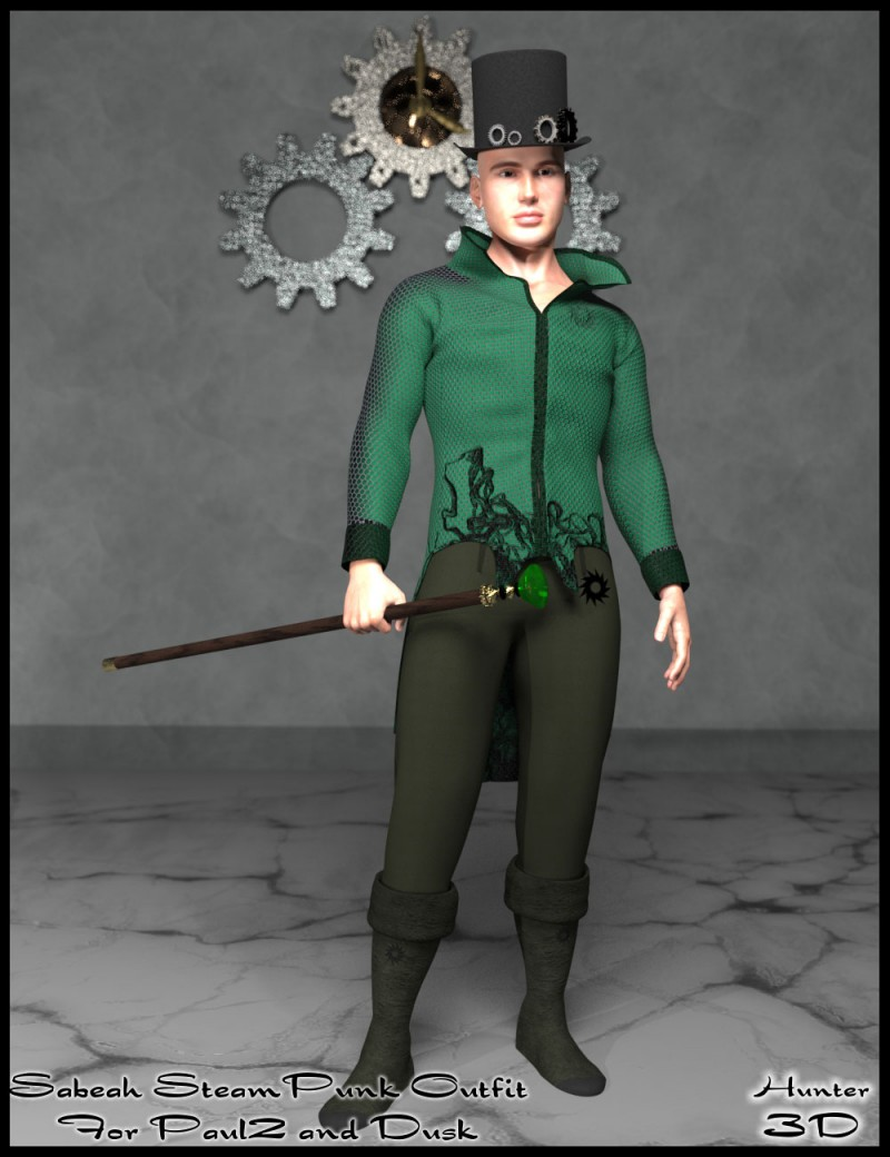 Sabeah Steampunk Outfit for Dusk and Paul 2