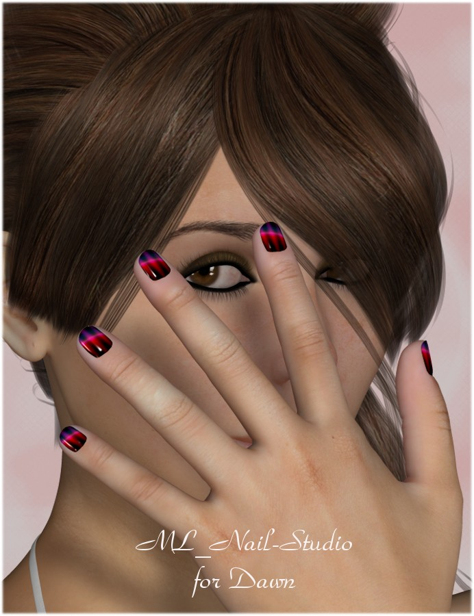 ML Nail Studio Vol 1 (Poser)