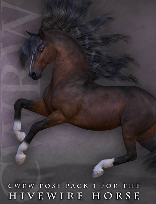 CWRW Pose Pack 1 for the HiveWire Horse