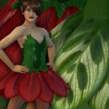 Flower Fairy Outfit (Poser)