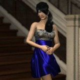 Dynamic Cocktail Dress for Dawn