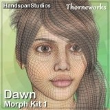 Head Morph Kit 1 for Dawn
