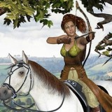 Archery Poses for the Huntress for Dawn