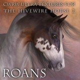 CWRW Ultra Textures for HW Horse Pack 2 Mini-Set - Roans