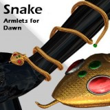 Snake Armlets for Dawn