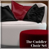 The Cuddler Chair Set