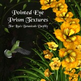 Pointed Eye Prism Textures for Lisa's Botanicals Daylily
