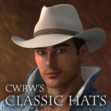 CWRW Classic Hats for the HiveWire 3D Cowboy Hat