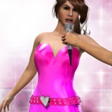 Pink LUV Idol Suit for Dawn
