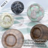 Iray Shader Factory 3 with LIE Overlays