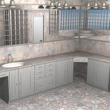 Grigio Rosa for Bathroom
