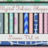 Digital Fabric Shoppe - Linens Vol 01
