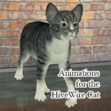 Animations for the HiveWire House Cat