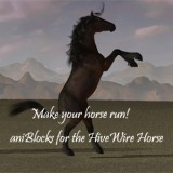 aniBlocks for the HiveWire Horse