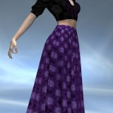 Black and Lilac for Dynamic Skirts for Dawn
