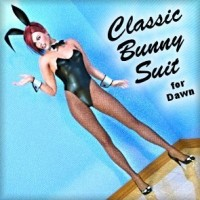 Classic Bunny Suit for Dawn Value Stack (Poser)