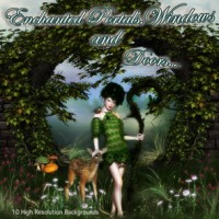 Enchanted Portals, Windows and Doors Backgrounds