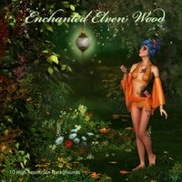 Enchanted Elven Wood Backgrounds
