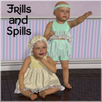 Frills and Spills for Baby Luna