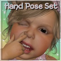 Chubbie Pandies - Hand Poses for Baby Luna