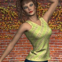 Dynamic Sweater Vest for Dawn and Victoria 4