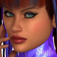 Skyla for Dawn - DAZ Studio
