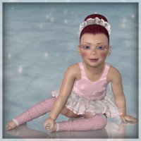 Sugar Plum for Baby Luna - Dynamic Clothes and Hair