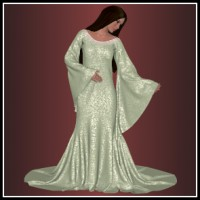 Dynamics 08 for Dawn - Evenstar Dress
